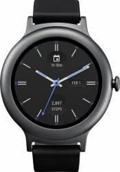 pret preturi Smartwatch LG Style W270 Otel Inoxidabil Argintiu Si Curea Piele Negru