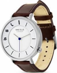 Smartwatch Mike Ellis Basic Design West M4870A Silver Brown Smartwatch