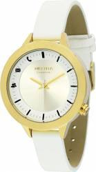 Smartwatch Mike Ellis Basic Liz L4831C Gold White Smartwatch