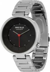 Smartwatch Mike Ellis Basic Sabatino M4846B Black Silver Smartwatch