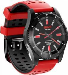 pret preturi Smartwatch NO1 GS8 HR GPS SIM Black-Red
