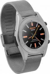 Smartwatch NO1 S9 Bluetooth Curea Metalica Grey Smartwatch