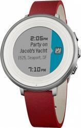 Smartwatch Pebble Time Round Rosu 601-00053 Resigilat Smartwatch