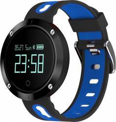 Smartwatch Star EM58 Monitorizare Puls IP68 Waterproof Albastru - Negru Smartwatch