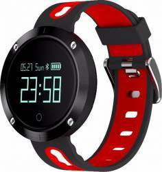 Smartwatch Star EM58 Monitorizare Puls IP68 Waterproof Rosu - Negru Smartwatch