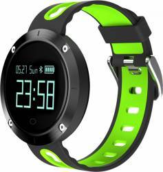 Smartwatch Star EM58 Monitorizare Puls IP68 Waterproof Verde - Negru Smartwatch