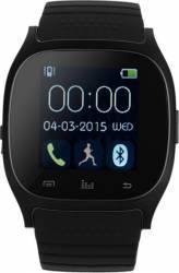 Smartwatch Star MTS003 Curea Silicon Negru Smartwatch