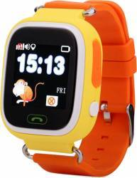 Smartwatch Star pentru Copii cu GPS SIM si Apel SOS Portocaliu Smartwatch