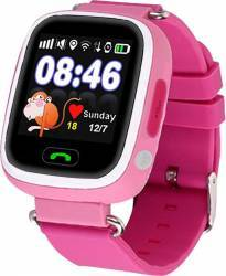 Smartwatch Star pentru Copii  cu GPS SIM si Apel SOS Roz smartwatch
