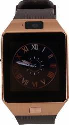 Smartwatch Star Rush Carcasa Aurie Curea Silicon Maro - SIM