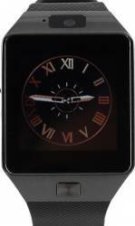 Smartwatch Star Rush Carcasa Neagra Curea Silicon Neagra - SIM