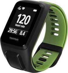 SmartWatch TomTom Runner 3 Cardio GPS Large Black-Green Smartwatch