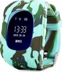 pret preturi Smartwatch Wonlex COMO Q50 GPS SIM Green Camo