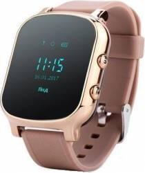 Smartwatch Wonlex GW700 GPS SIM Auriu Resigilat Smartwatch