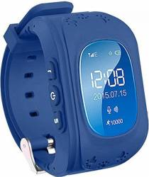 pret preturi Ceas Smartwatch copii Wonlex Q50 functie telefon, buton SOS, monitorizare, GPS, SIM Albastru-Inchis