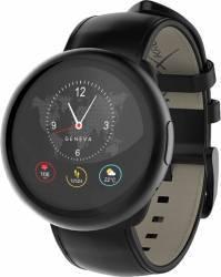Smartwatch ZeRound 2 HR Premium + Curea Piele Negru Smartwatch