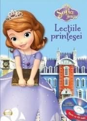 Sofia Intai - Lectiile printesei Carte + CD. Lectura Andra Gogan Carti