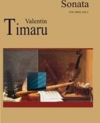 Sonata For Oboe Solo - Valentin Timaru