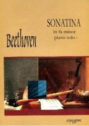 Sonatina In Fa Minor - Piano Solo - Beethoven