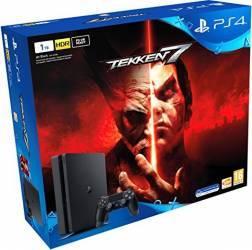 Sony Consola PS4 Slim 1TB Chassis Black + Tekken 7 Console jocuri