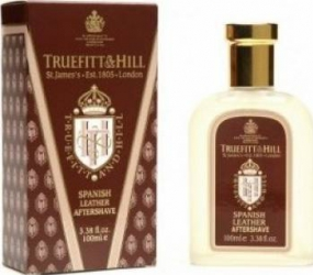 Spanish Leather by Truefitt and Hill Barbati 100ml Gel de Ras si Aftershave