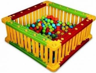 Spatiu de joaca patrat pentru bile King Kids Spatii de joaca si accesorii