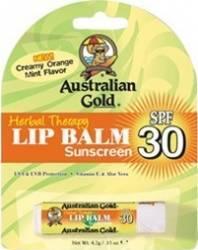 Protectie solara pentru fata Australian Gold SPF 30 Lip Balm Blister
