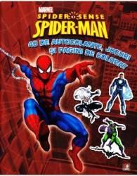 Spider-Man - 40 de autocolante jocuri si pagini de colorat