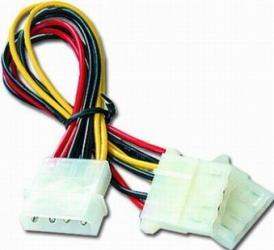 Spliter Cablu Alimentare Gembird 5.25 Molex to 2x 5.25 Molex Cabluri Componente