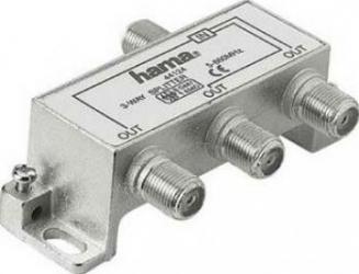 Splitter cablu Hama CATV 3 iesiri Adaptoare TV
