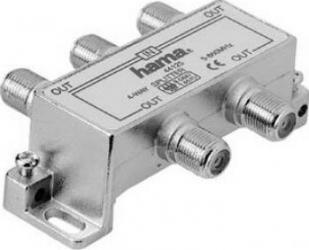 Splitter cablu Hama CATV 4 iesiri Adaptoare TV