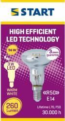 Spot LED Reflector, R50, E14, 3W, START, 260lm Becuri
