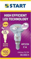 Spot LED Reflector, R50, E14, 5W, START, 450lm Becuri