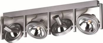 Spot Philips Fast, G9, 4x60W, Aluminiu Corpuri de iluminat
