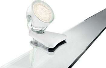 Spot clip Philips myLiving Dyna LED Alb 1x4W
