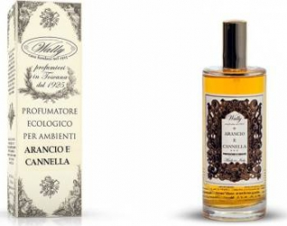 Spray de Camera Wally Arancio e Cannella 100ml Odorizante