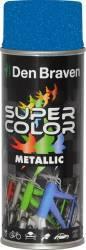 Spray Super Color Albastru efect metalic 400ml