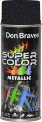 Spray Super Color Negru efect metalic 400ml
