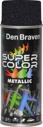 Spray Super Color Negru efect metalic 400ml