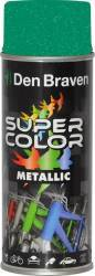 Spray Super Color Verde efect metalic 400ml