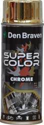 Spray vopsea Super Color Crom Auriu 400ml Siliconi Spume si Solutii tehnice