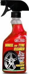 Spuma activa pentru jante si anvelope Ma-Fra Wheel & Tyre Cleaner pulverizator 500 ml Cosmetica si Detergenti Auto