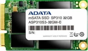 SSD ADATA Premier Pro SP310 32GB mSATA SATA3 MLC