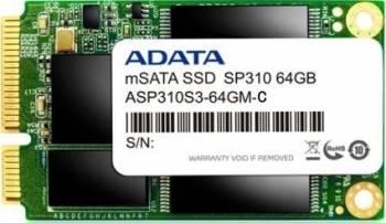 SSD ADATA Premier Pro SP310 64GB mSATA SATA3 MLC