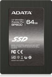 SSD ADATA Premier Pro SP600 64GB SATA-III 2.5 MLC SSD uri