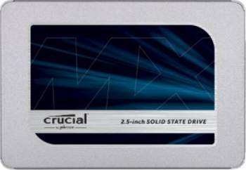 SSD Crucial MX500 500GB SATA3 2.5 inch 7mm + Adaptor 9.5mm SSD uri