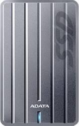 SSD Extern ADATA ASC660H 256GB USB 3.1 2.5 inch Titanium Hard Disk uri Externe