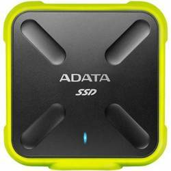 SSD Extern ADATA SD700 512GB USB 3.1 Yellow Hard Disk-uri Externe