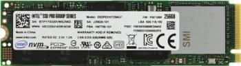 SSD Intel Pro 6000p 256GB PCIe NVMe 3.0 x4 M.2 SSD uri