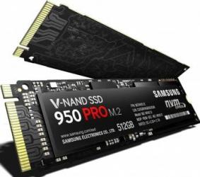 SSD Samsung 950 Pro 512GB M.2 PCIe 3.0 x4